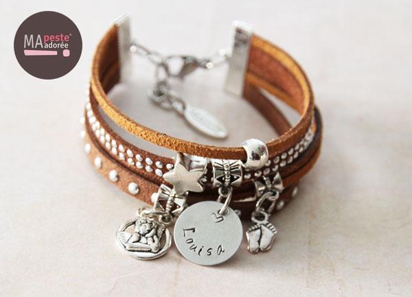 Bracelet personnalisé «Basic»