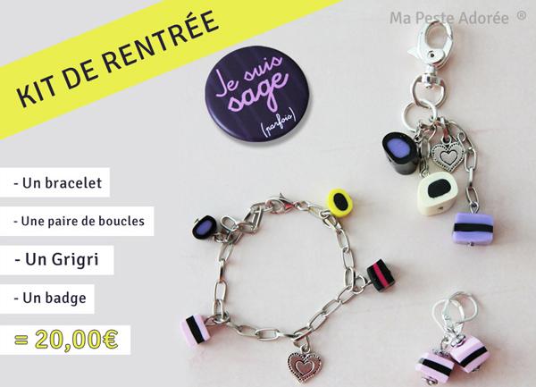 Kit rentrée 2013, bijoux pour petites filles sages par Ma Peste Adorée