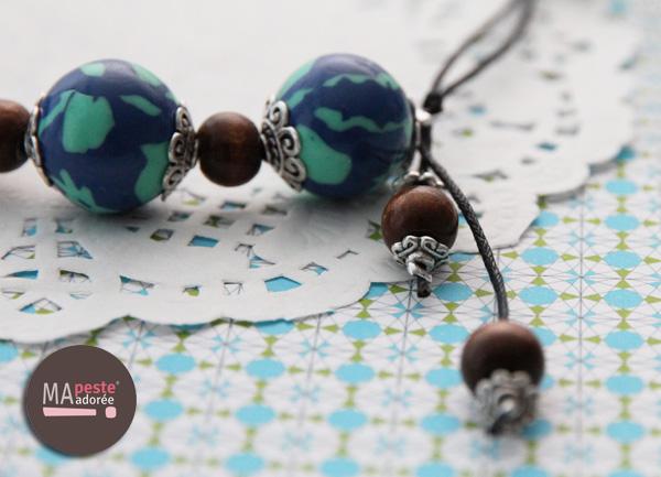 Nouvelle collection de bijoux en fimo : sur Terre par la créatrice Ma Peste Adorée