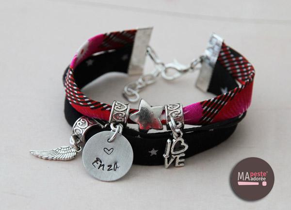 Découvrez le dernier né des bracelets personnalisés chez Ma Peste Adorée : le bracelet Oh Mine version 5