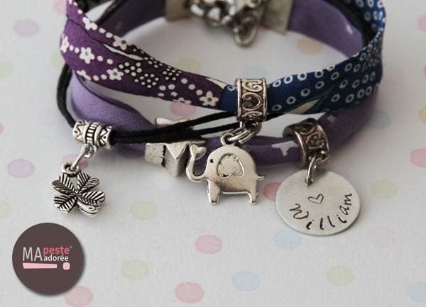 Offre spéciale sur les bracelets personnalisés Oh Mine du 10 au 15 avril 2014