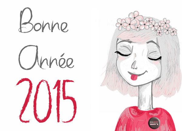 Bonne Année 2015 de la part de Ma Peste Adorée