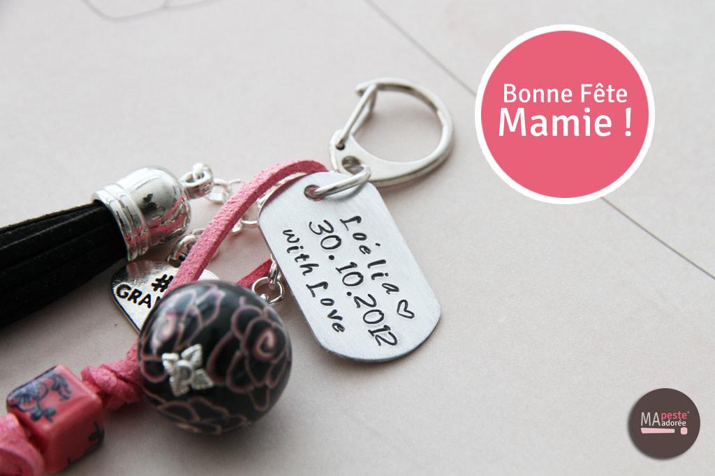 Nouveaux bijoux personnalisés par Ma Peste Adorée pour la fête des Grands mères 2015