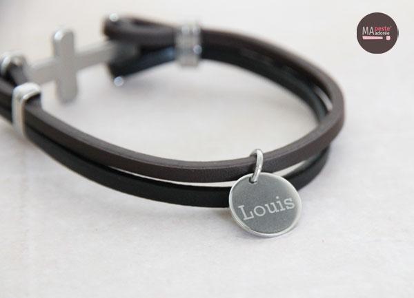 Bracelet personnalisé pour homme