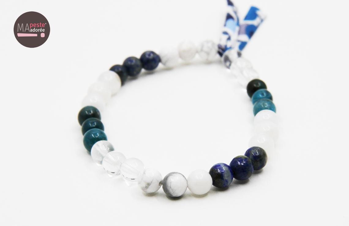 Bracelet en pierres naturelles (perles) pour vous aider a perdre du poids