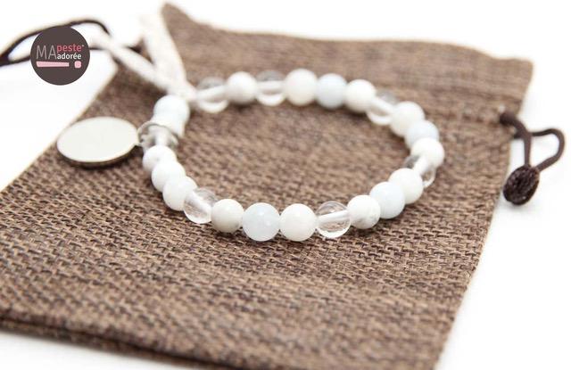 les pierres blanches en lithothérapie
